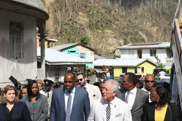 Penny Mordaunt Roosevelt Skerrit The Prince of Wales Visits the Caribbean - Day 3