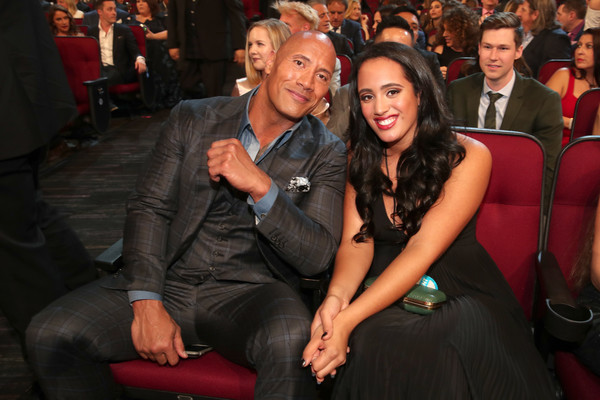 Dwayne the rock dating