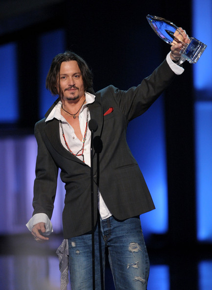 Johnny Depp in People's Choice Awards 2010 - Show - Zimbio джонни депп