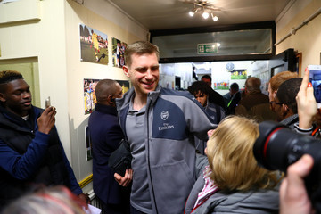 Per Mertesacker Sutton United v Arsenal - The Emirates FA Cup Fifth Round