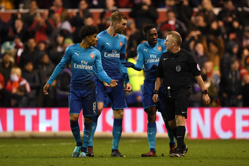 Per Mertesacker Nottingham Forest v Arsenal - The Emirates FA Cup Third Round