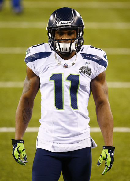 Percy Harvin Pictures - Super Bowl XLVIII - Seattle ...