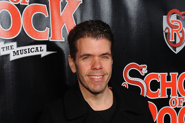 Perez Hilton 'School of Rock' Broadway Opening Night - Arrivals and Curtain Call