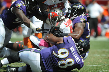 Pernell McPhee Baltimore Ravens v Tampa Bay Buccaneers