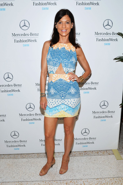 Perrey Reeves Pictures Mercedes Benz Fashion Week Swim