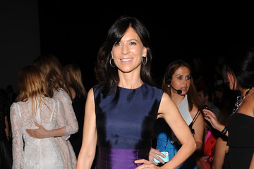 Perrey Reeves Monique Lhuillier - Front Row - Mercedes-Benz Fashion Week Spring 2015
