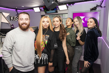 Perrie Edwards Jade Thirlwall Little Mix At KISS FM