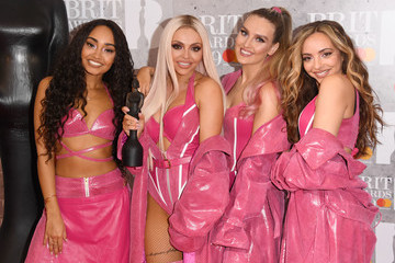 Perrie Edwards Jade Thirlwall The BRIT Awards 2019 - Winners Room