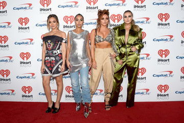 Perrie Edwards 2017 iHeartRadio Music Festival - Night 1 - Red Carpet