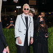 Pete Davidson The 2021 Met Gala Celebrating In America: A Lexicon Of Fashion - Arrivals