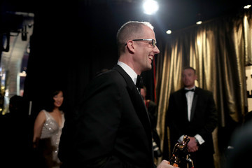 Pete Docter Backstage at the 2016 Academy Awards