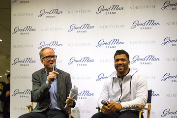 Pete Nordstrom Russell Wilson Launches Good Man Brand at Nordstrom