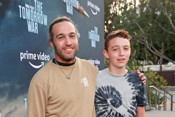 """Pete Wentz Los Angeles Premiere Of Amazon's """"The Tomorrow War"""" - Red Carpet And Pre-Reception"""