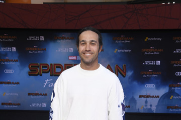 Pete Wentz Premiere Of Sony Pictures' 'Spider-Man Far From Home'  - Arrivals