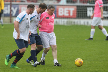 Peter Beardsley Celebrity Charity Match At Northampton Town Football Club