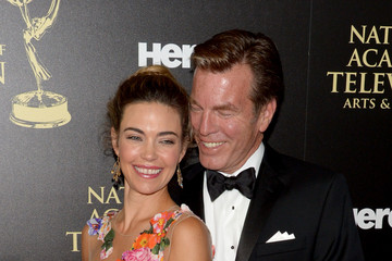 Peter Bergman Amelia Heinle The 41st Annual Daytime Emmy Awards - Arrivals