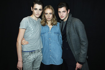 Peter Brant PFW: Backstage at IRFE