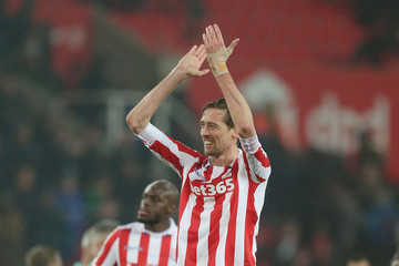 Peter Crouch Stoke City v Crystal Palace - Premier League