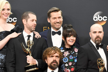 Peter Dinklage Maisie Williams 68th Annual Primetime Emmy Awards - Press Room