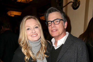 Husband Peter Gallagher and Wife Paula Harwood. The couple has a son and a daughter