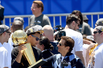 Peter Guber Golden State Warriors Victory Parade and Rally