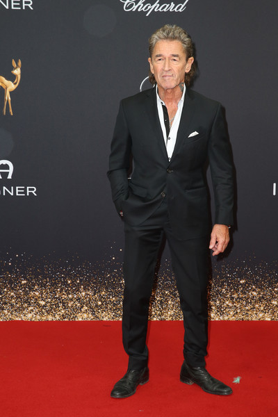 Red Carpet Arrivals - Bambi Awards 2019 [suit,carpet,red carpet,formal wear,tuxedo,premiere,flooring,event,white-collar worker,peter maffay,bambi awards,festspielhaus baden-baden,germany,red carpet arrivals]