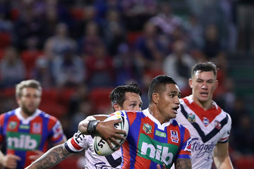Peter Mata'utia NRL Rd 7 - Knights v Roosters