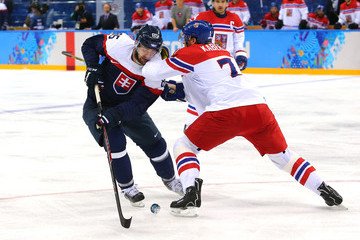 Peter Olvecky Ice Hockey - Winter Olympics Day 11