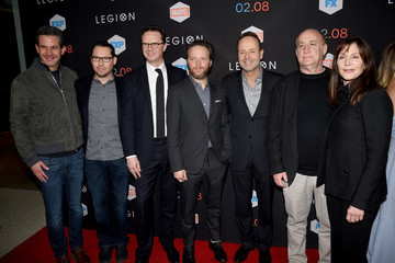 Peter Rice Premiere Of FX's 'Legion' - Red Carpet