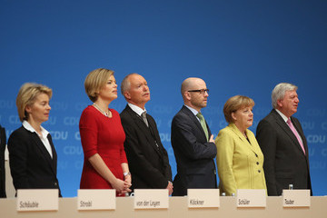 Peter Tauber German Christian Democrats Hold Annual Party Congress