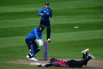 Peter Trego Somerset v Kent - Royal London One-Day Cup