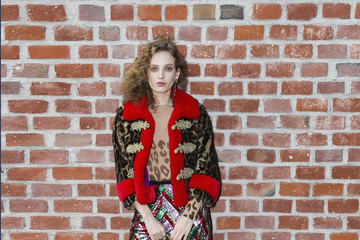 Petra Collins Gucci - Arrivals - Milan Fashion Week Fall/Winter 2017/18