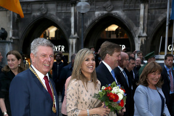 Petra Reiter King Willem-Alexander And Queen Maxima Of The Netherlands Visit Bavaria - Day 1