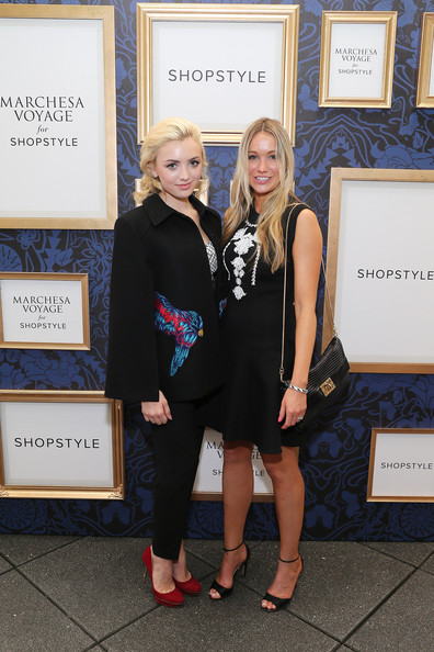 Peyton List - An Exclusive Preview Of The Marchesa Voyage For ShopStyle Collection