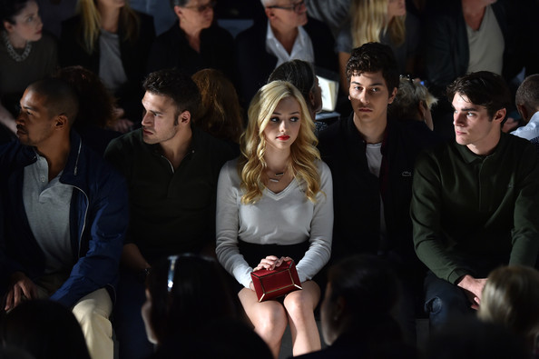 Peyton List - Lacoste - Front Row - Mercedes-Benz Fashion Week Spring 2015