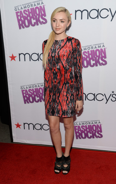 Peyton List - Macy's Passport Presents Glamorama  'Fashion Rocks' In Los Angeles