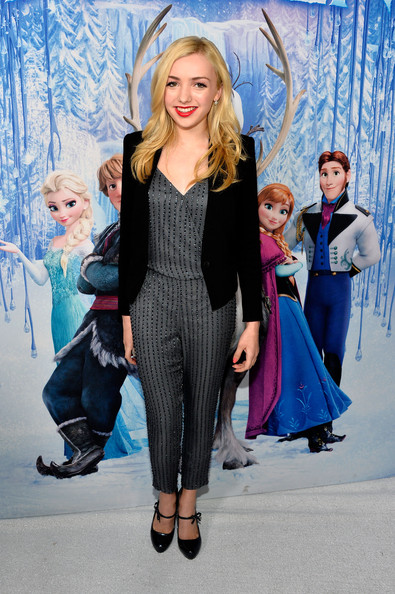 "Peyton List - Premiere Of Walt Disney Animation Studios' ""Frozen"" - Red Carpet"
