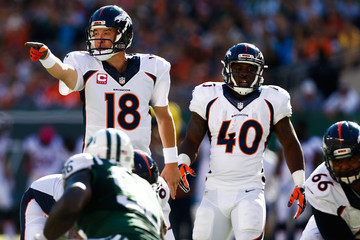 Peyton Manning Denver Broncos v New York Jets