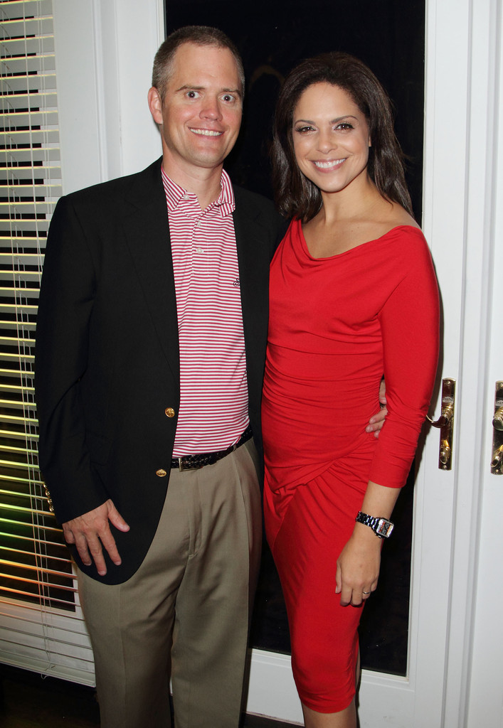 Husband and wife: Soledad O'Brien and Bradely Raymond