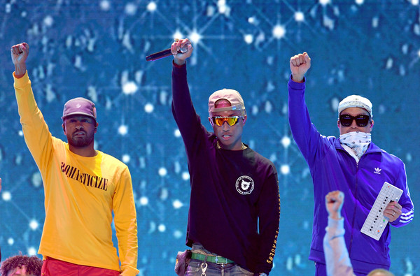Nickelodeon's 2018 Kids' Choice Awards - Best Of [fun,recreation,sports,championship,snow,world,competition event,leisure,winter,competition,chad hugo,pharrell williams,shay haley,kids choice awards,best of,l-r,inglewood,california,nickelodeon,the forum]