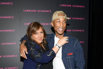 Pharrell Williams Lorraine Schwartz Launches The Eye Bangle
