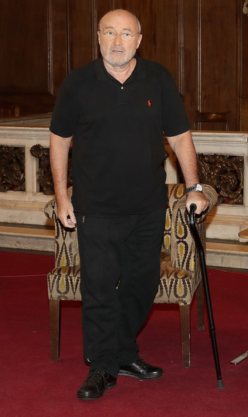 Phil Collins Launches His Autobiography 'Not Dead Yet' - Photocall