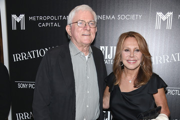 Phil Donahue The Cinema Society With FIJI Water and Metropolitan Capital Bank Host a Screening of Sony Pictures Classics' 'Irrational Man'