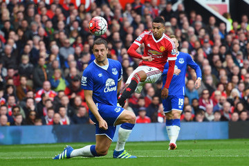 Phil Jagielka Manchester United v Everton - Premier League
