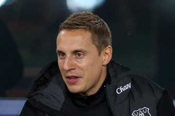 Phil Jagielka Everton v Norwich City - Capital One Cup Fourth Round