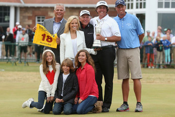 Phil Mickelson Butch Harmon 142nd Open Championship: Final Round