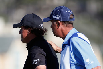 Phil Mickelson Jim MacKay AT&T Pebble Beach National Pro-Am - Final Round