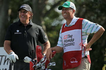 Phil Mickelson Jim MacKay The Honda Classic - Preview Day 3