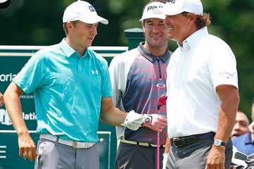 Phil Mickelson Jordan Spieth The Memorial Tournament Presented By Nationwide - Round One