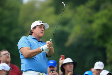 Phil Mickelson PGA Championship - Preview Day 2